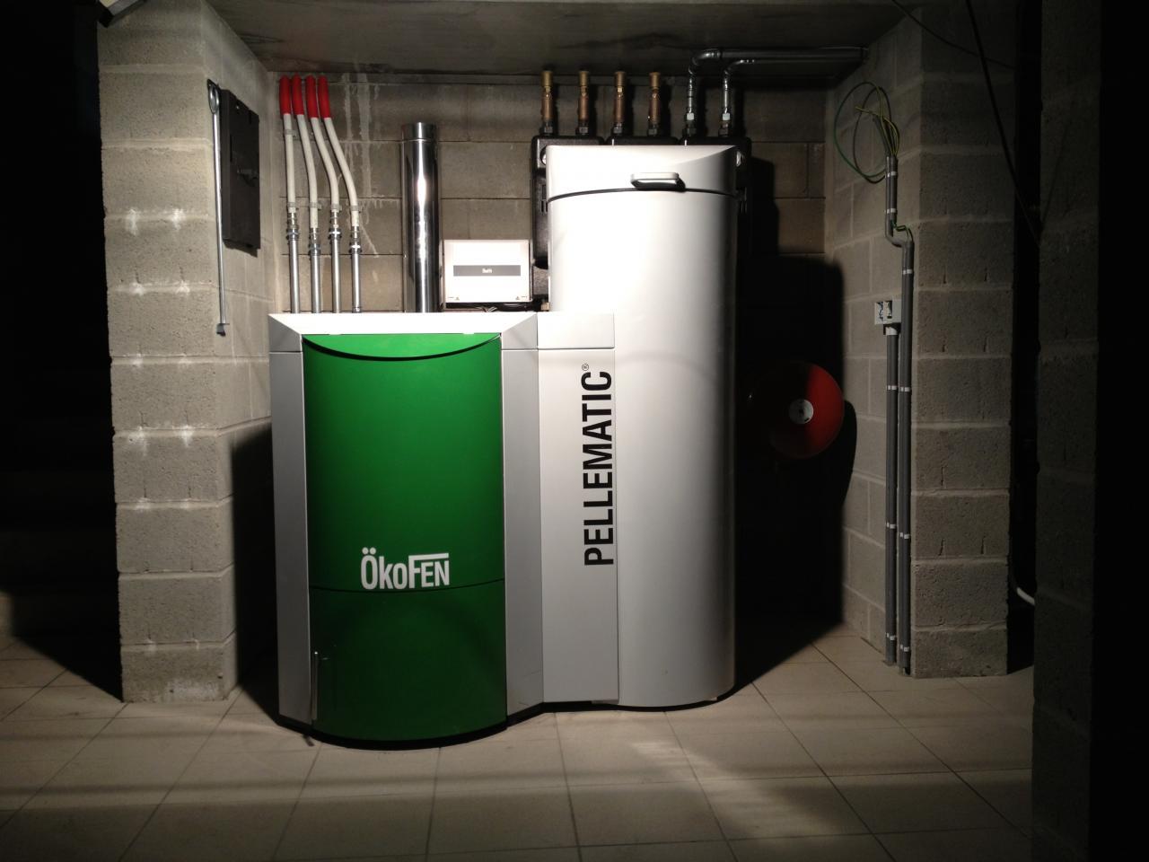 delmelle energies Okofen PEB silo intégré