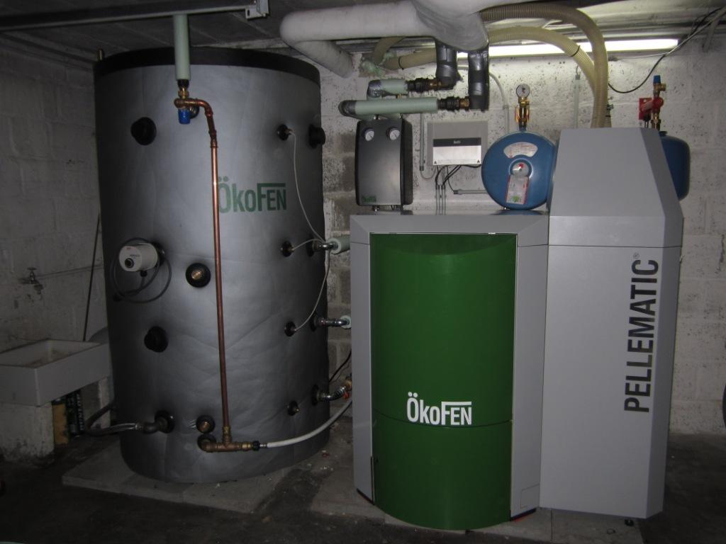 Delmelle Energies Okofen PES20 avec Ballon tampon 800 litres
