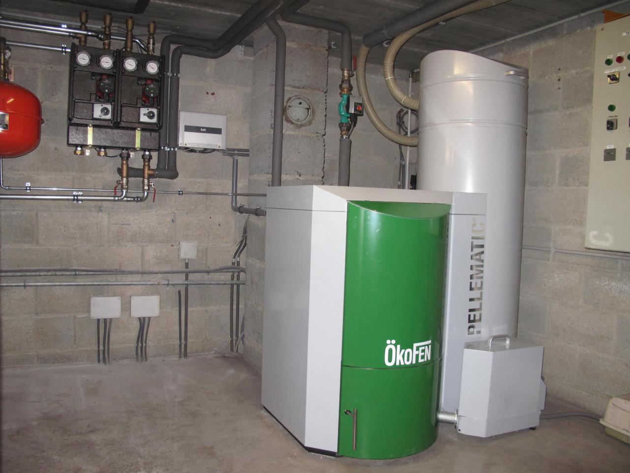 Delmelle Energies Okofen PEB avec aspirateur PES