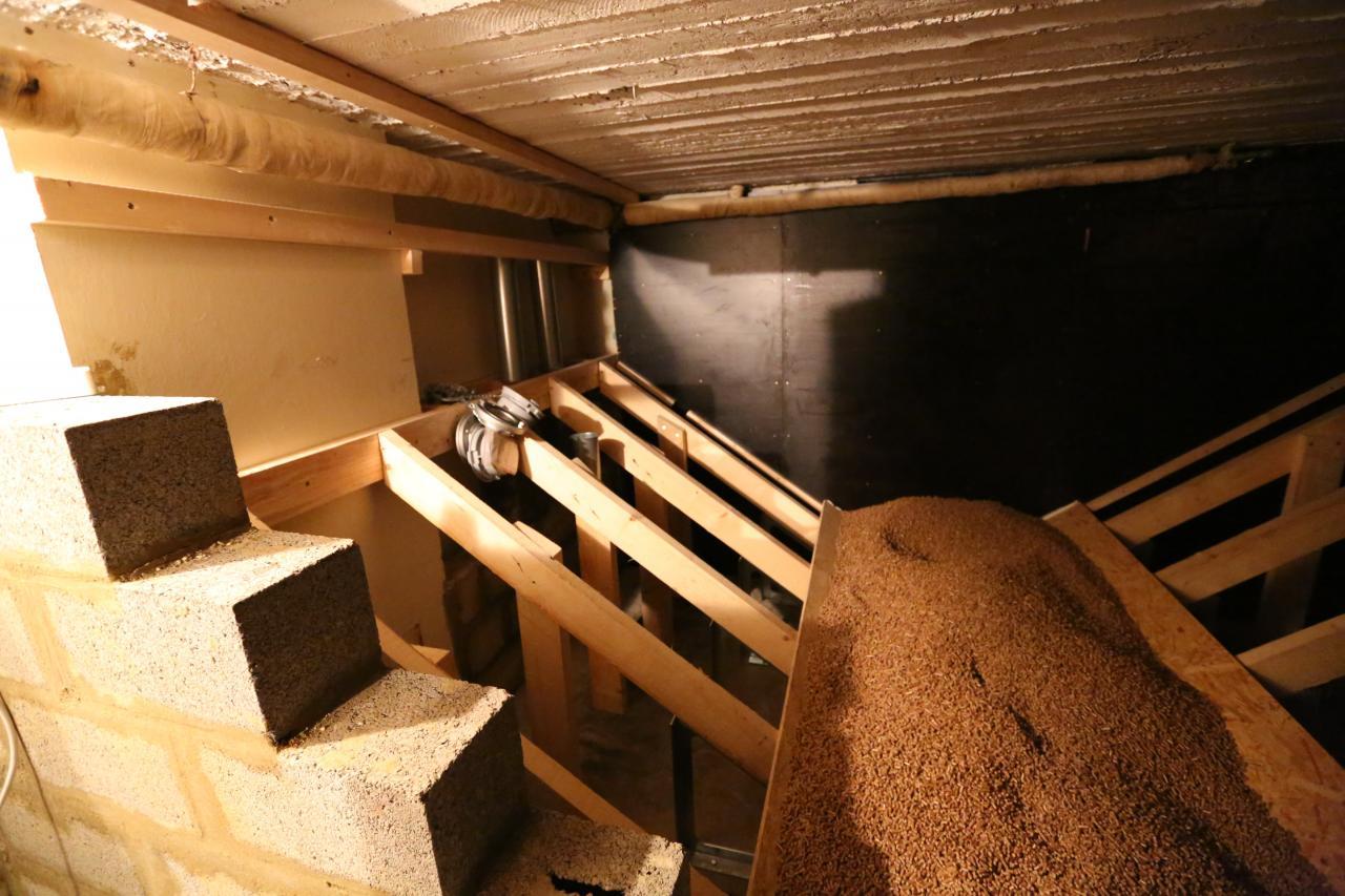 silo de stockage pour chaudi re pellet et chaudi re biomasse. Black Bedroom Furniture Sets. Home Design Ideas