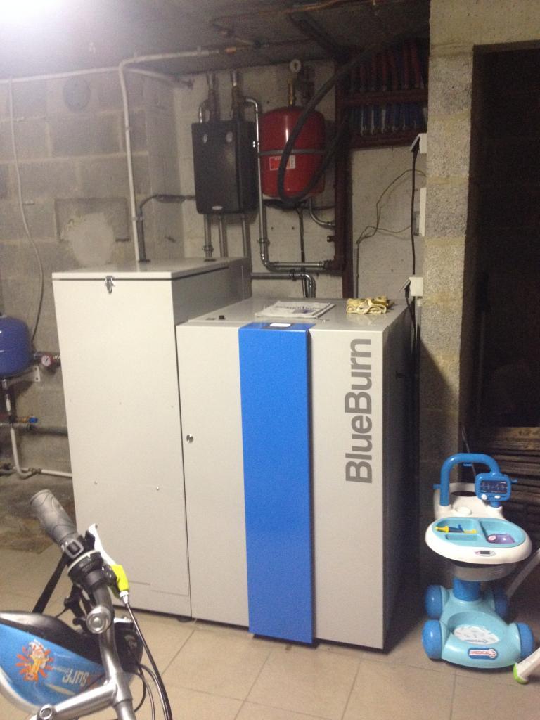 Delmelle Energies chaudière BlueBurn