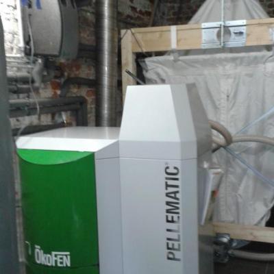 Delmelle Energies Okofen PES20 avec FlexiloCompact