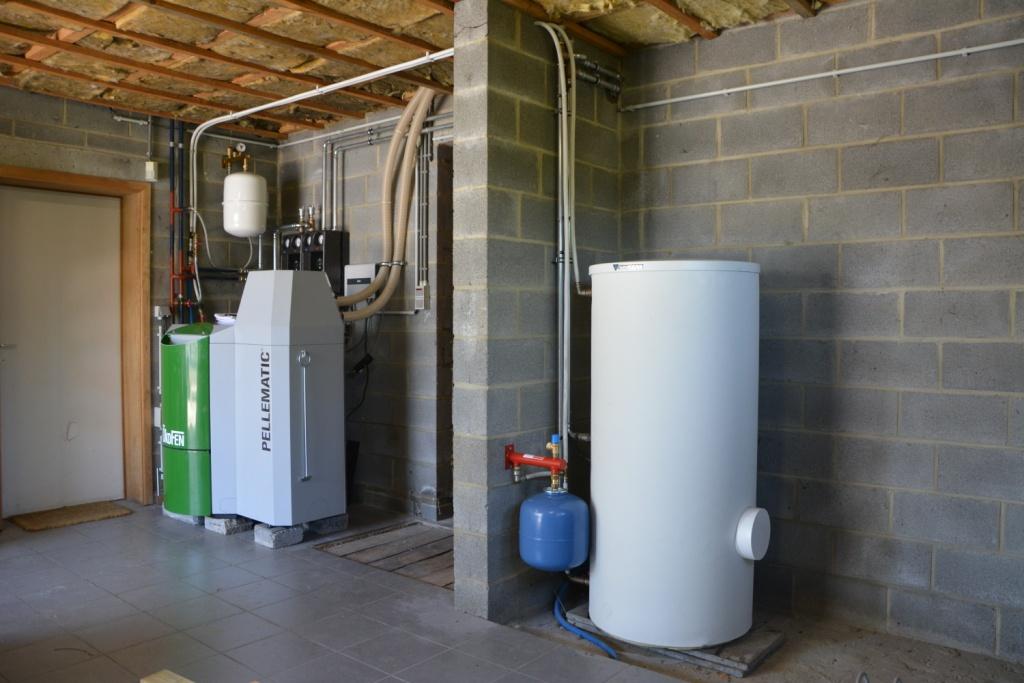 Delmelle Energies Okofen PES20 et boiler