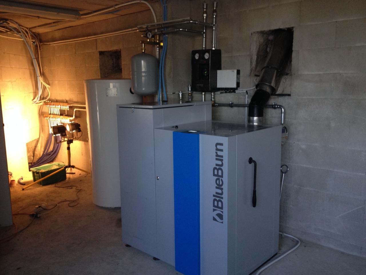 delmelle energies chaudière BlueBurn avec boiler